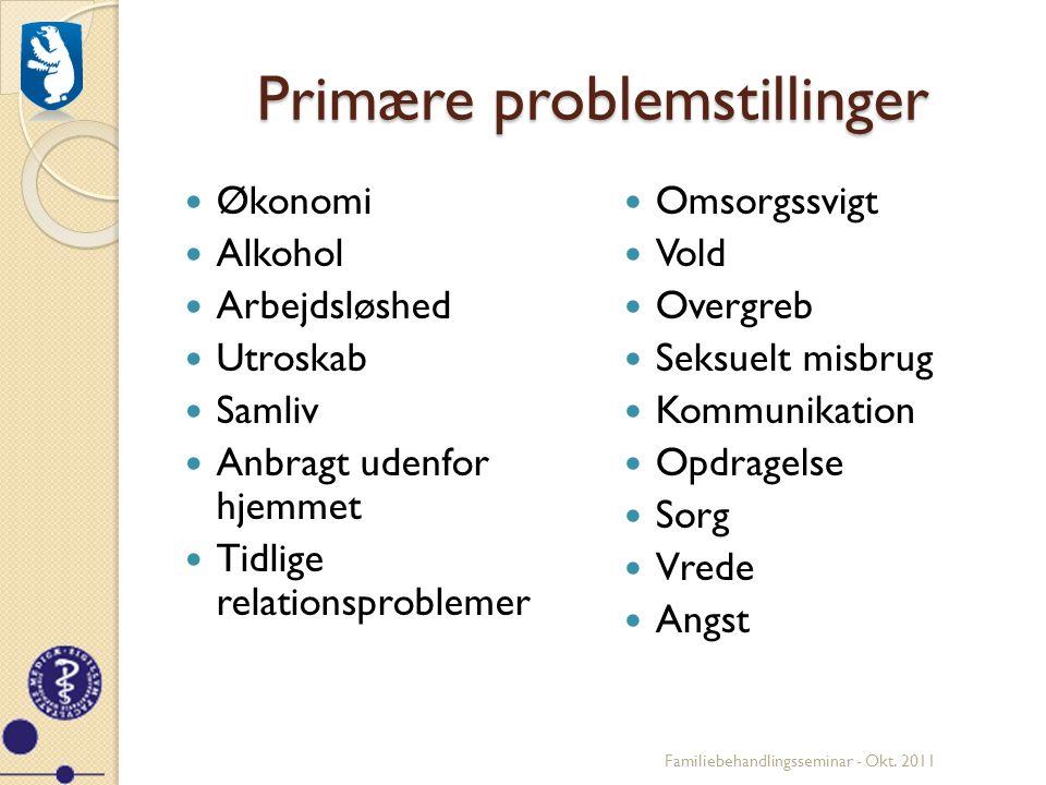 Primære problemstillinger