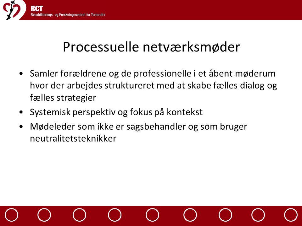 Processuelle netværksmøder