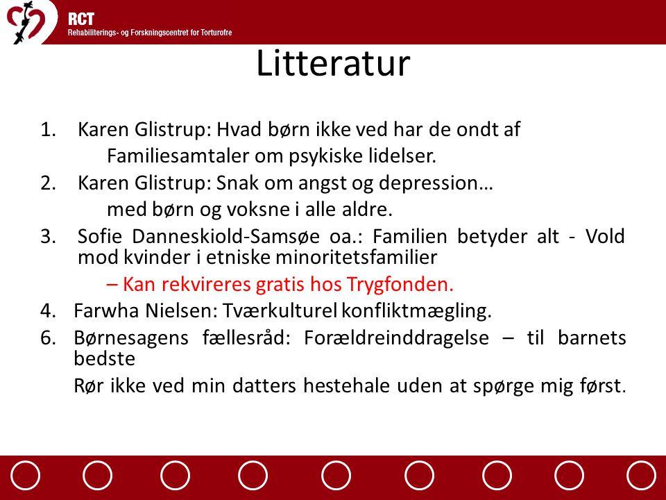 Litteratur Karen Glistrup: Hvad børn ikke ved har de ondt af