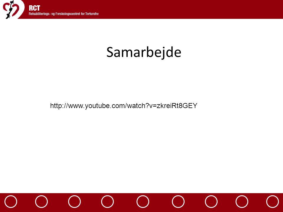 Samarbejde http://www.youtube.com/watch v=zkreiRt8GEY