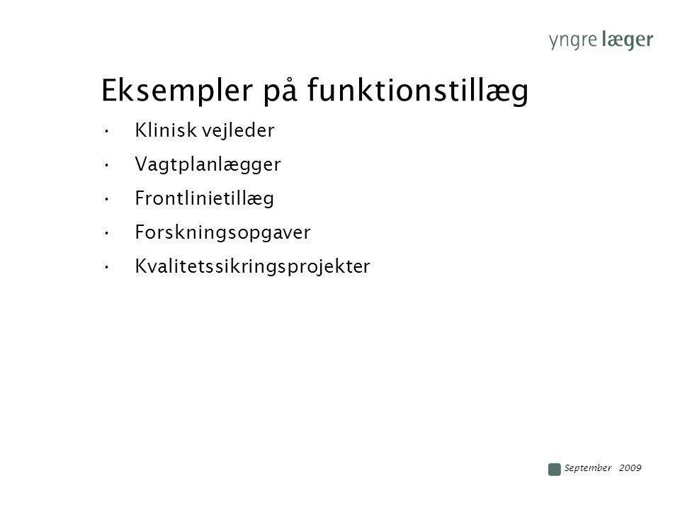 Eksempler på funktionstillæg