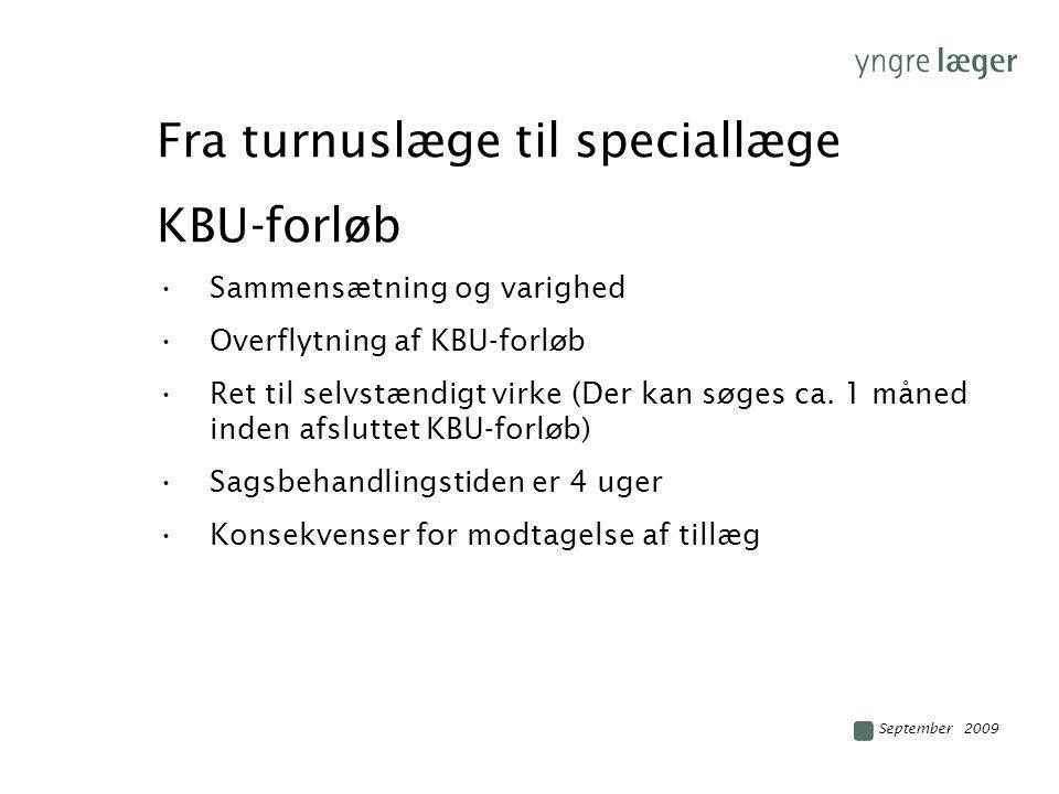 Fra turnuslæge til speciallæge KBU-forløb