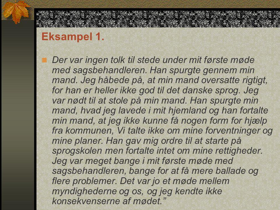 Eksampel 1.
