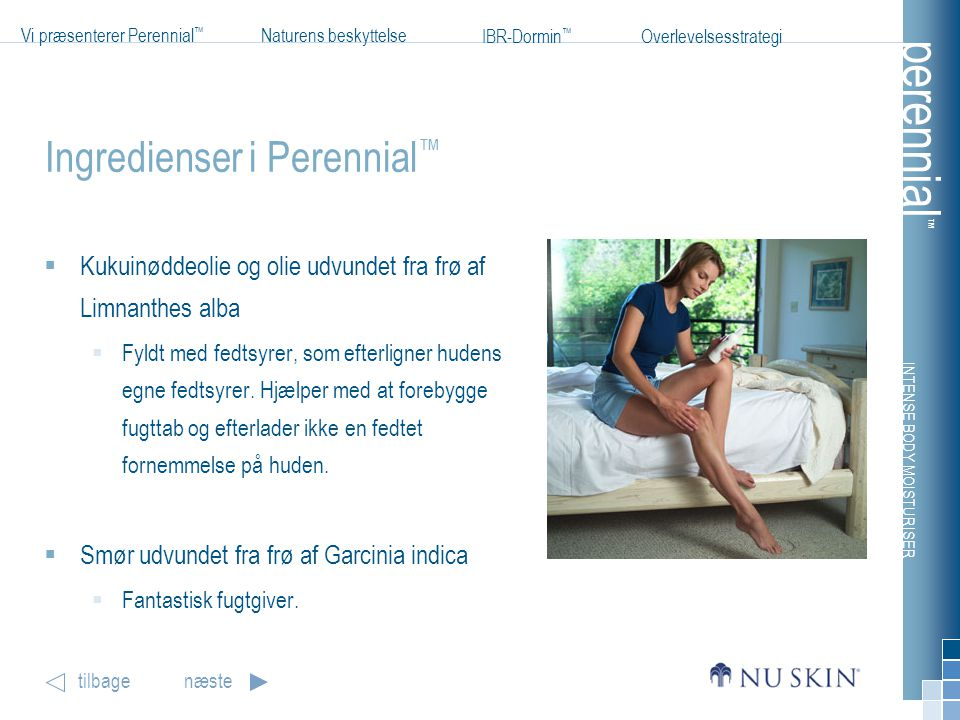 Ingredienser i Perennial™