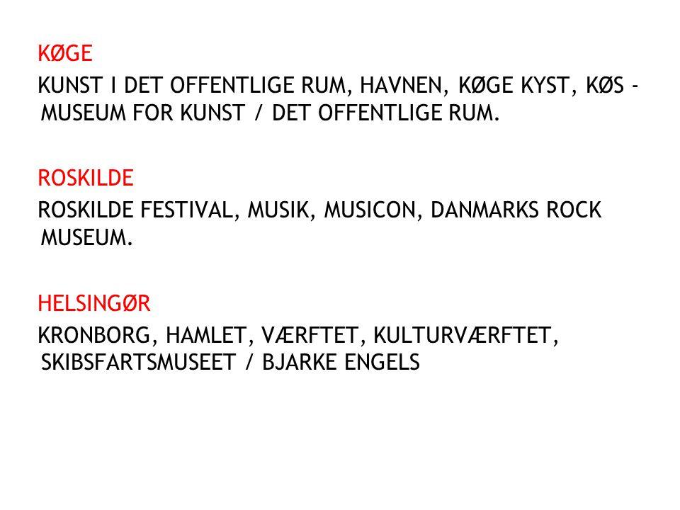 KØGE KUNST I DET OFFENTLIGE RUM, HAVNEN, KØGE KYST, KØS - MUSEUM FOR KUNST / DET OFFENTLIGE RUM. ROSKILDE.