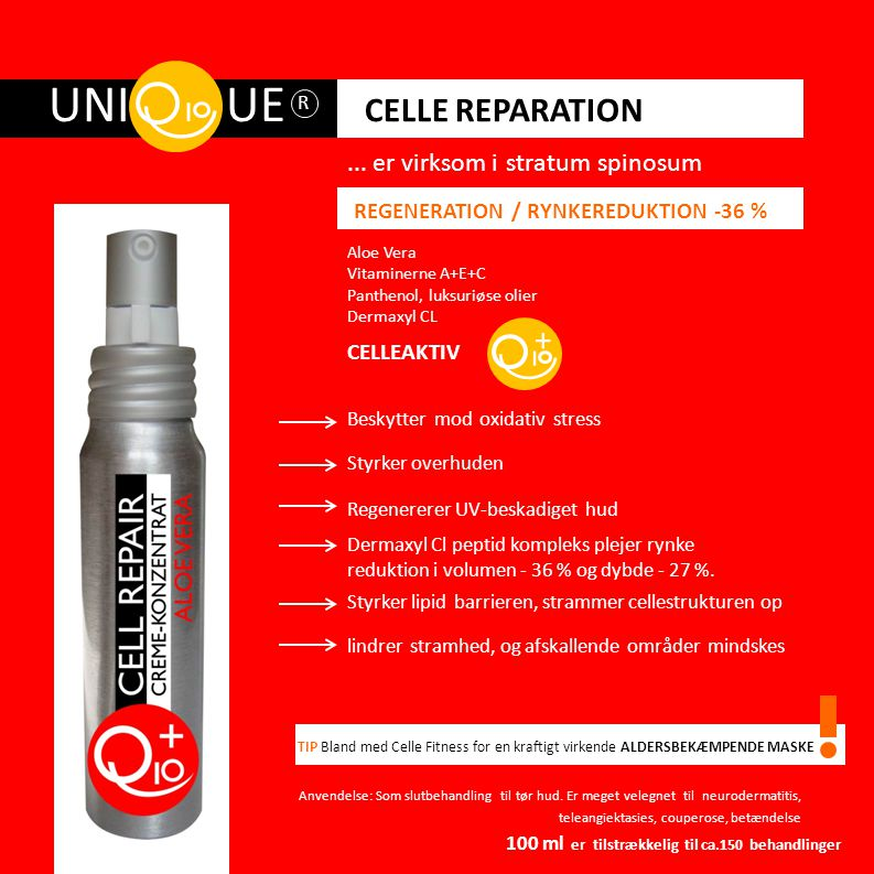 UNI UE CELLE REPARATION + REGENERATION / RYNKEREDUKTION -36 %
