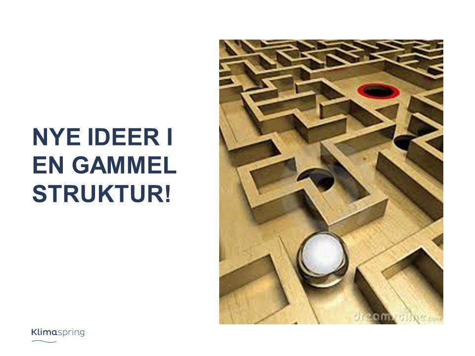 Nye ideer i en Gammel struktur!