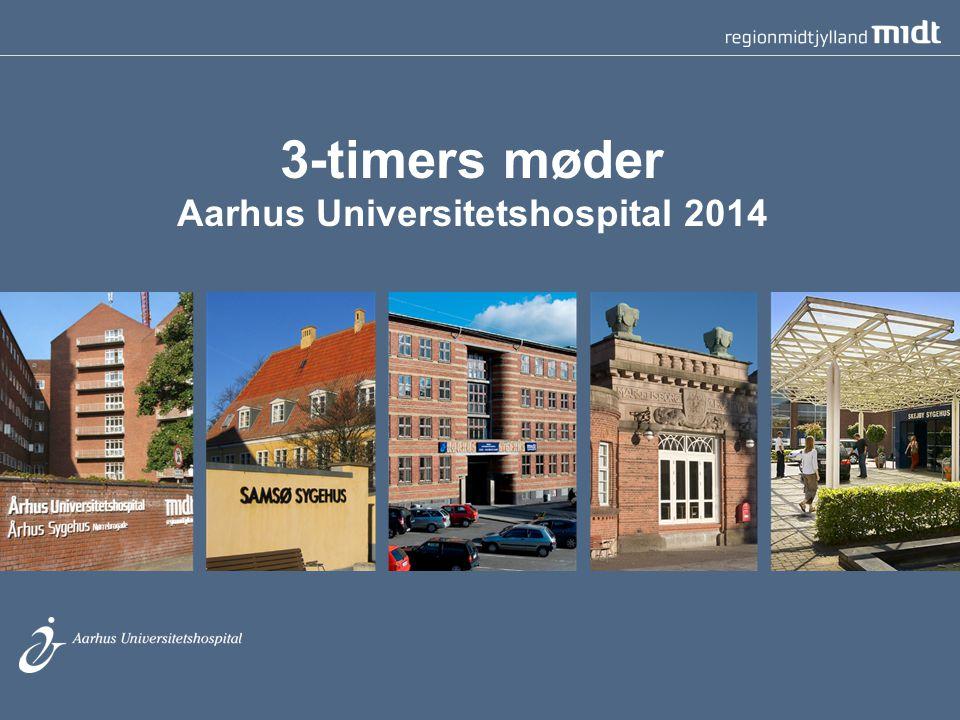 3-timers møder Aarhus Universitetshospital 2014