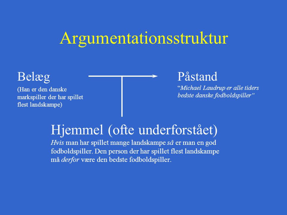 Argumentationsstruktur