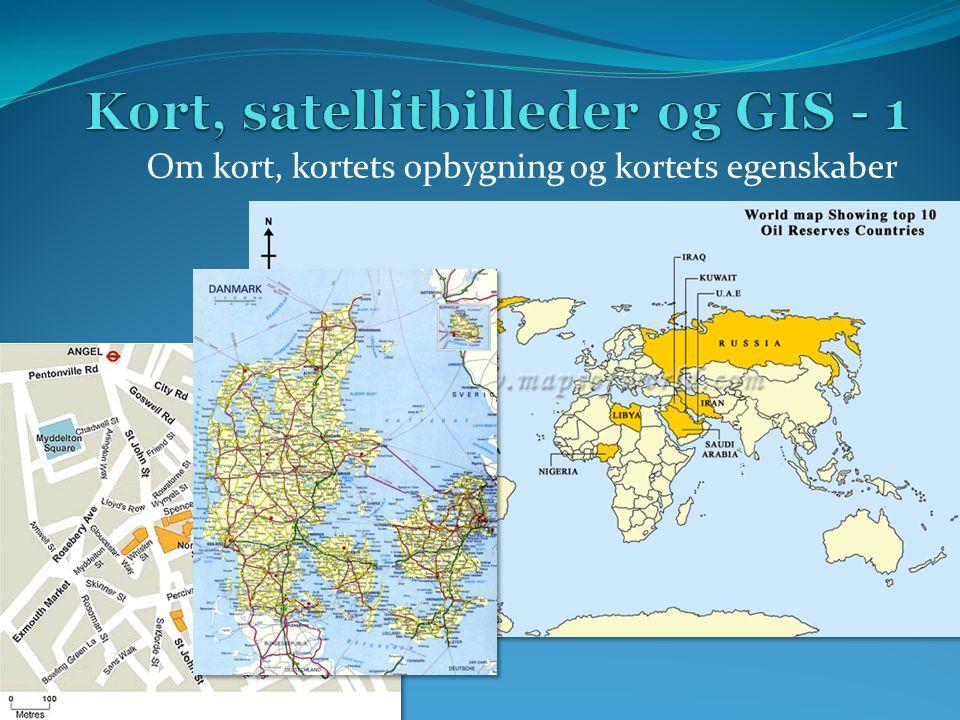 Kort, satellitbilleder og GIS - 1