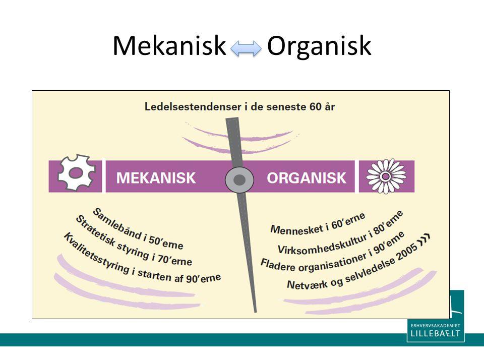 Mekanisk Organisk