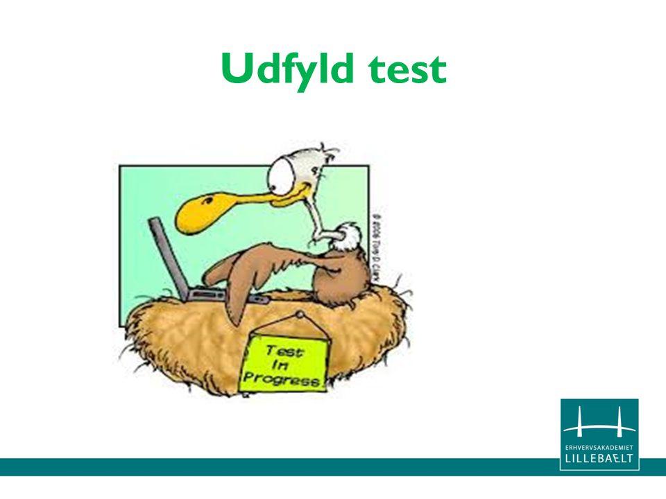 Udfyld test