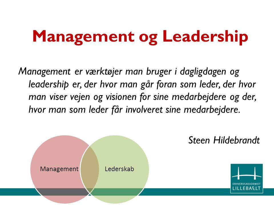 Management og Leadership