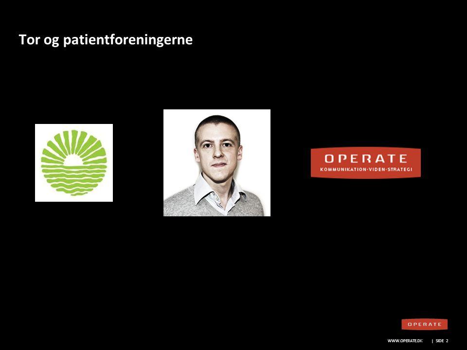 Tor og patientforeningerne