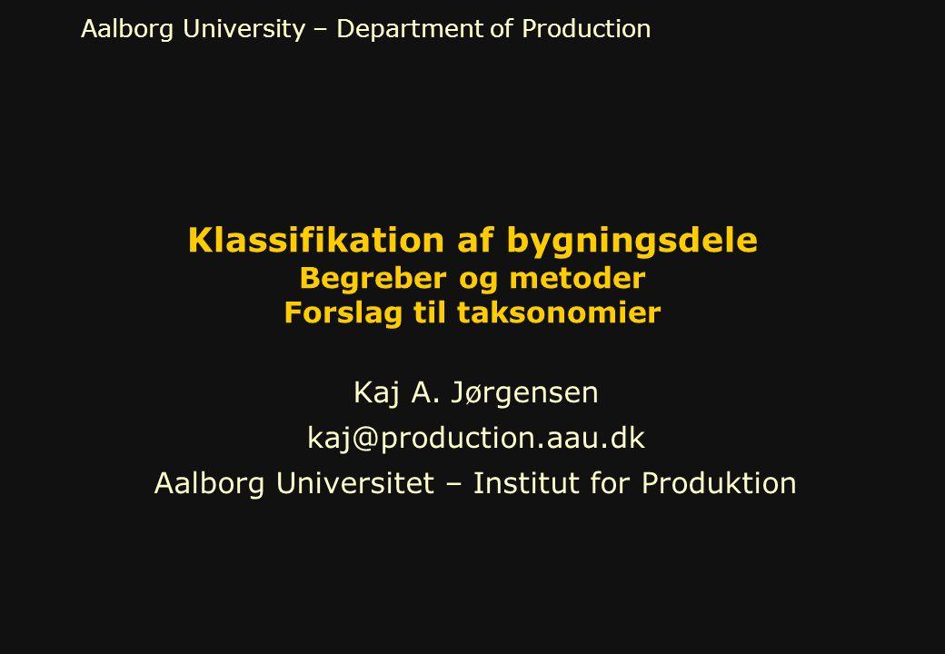 Aalborg Universitet – Institut for Produktion