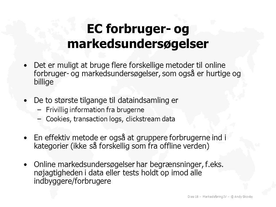 EC forbruger- og markedsundersøgelser