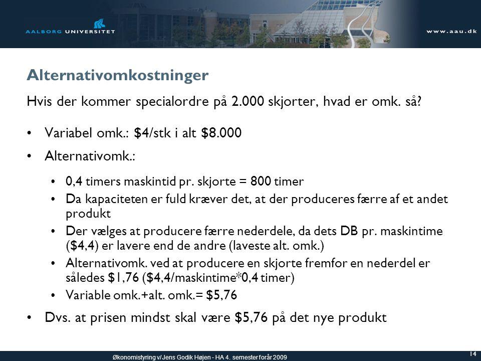 Alternativomkostninger