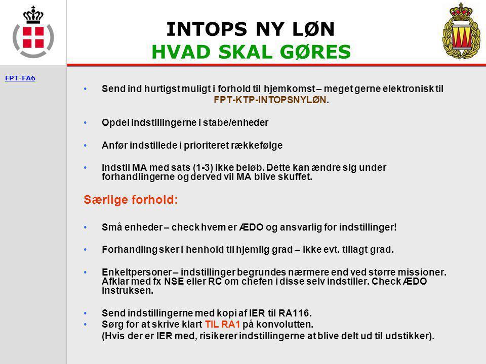 INTOPS NY LØN HVAD SKAL GØRES