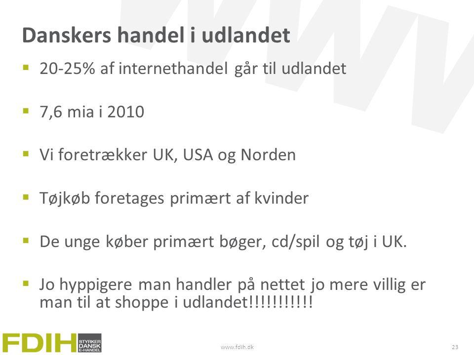 Danskers handel i udlandet