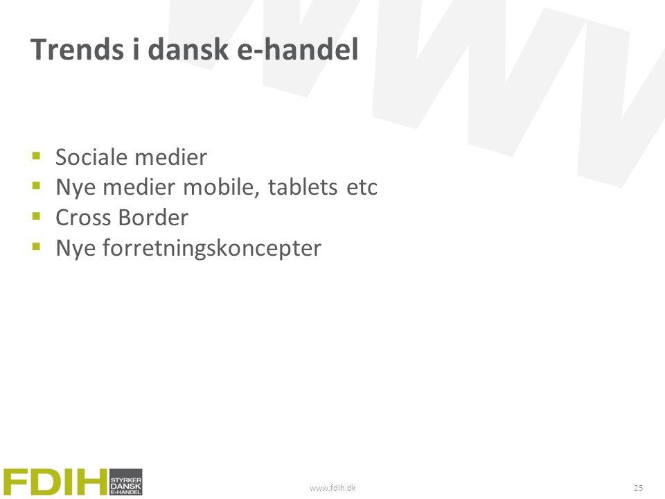 Trends i dansk e-handel