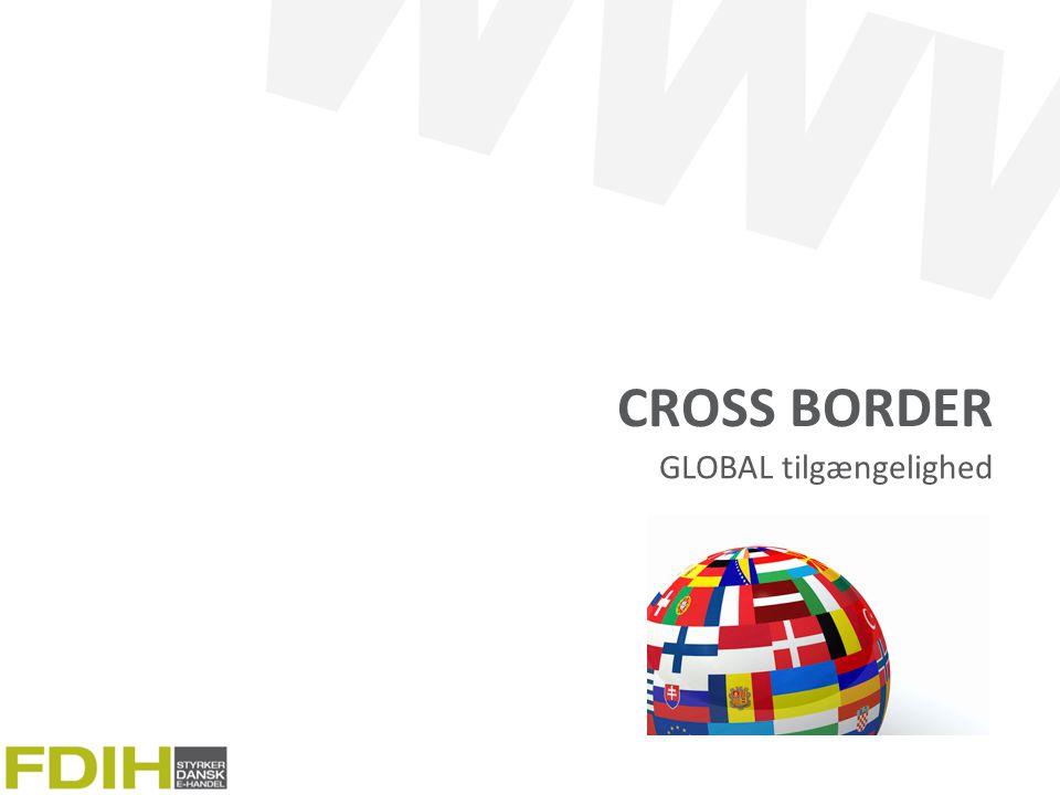 Cross border GLOBAL tilgængelighed