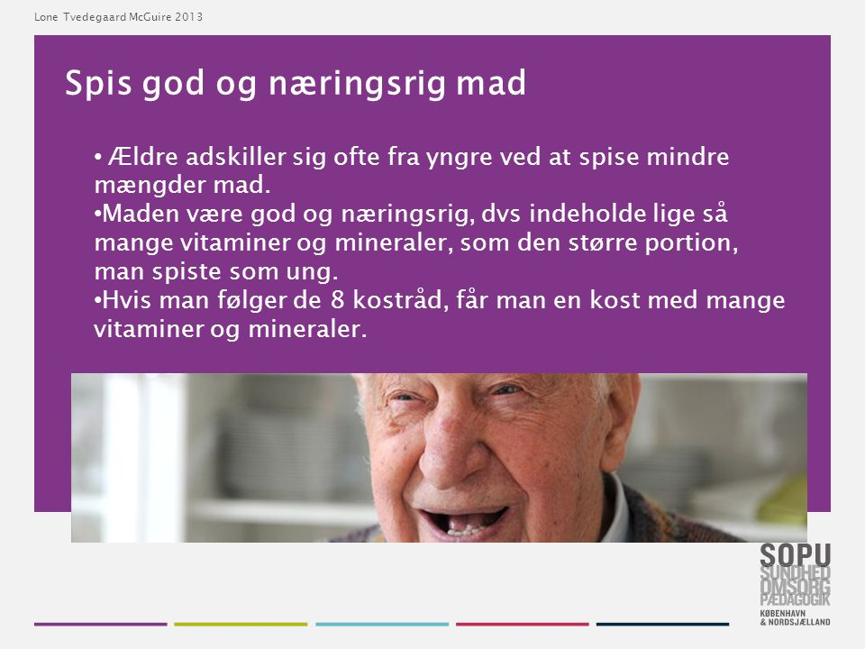 Spis god og næringsrig mad