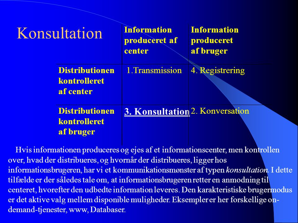 Konsultation 3. Konsultation