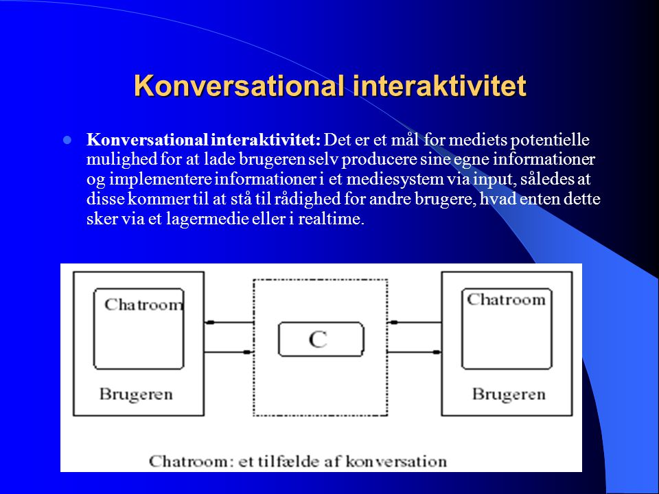 Konversational interaktivitet