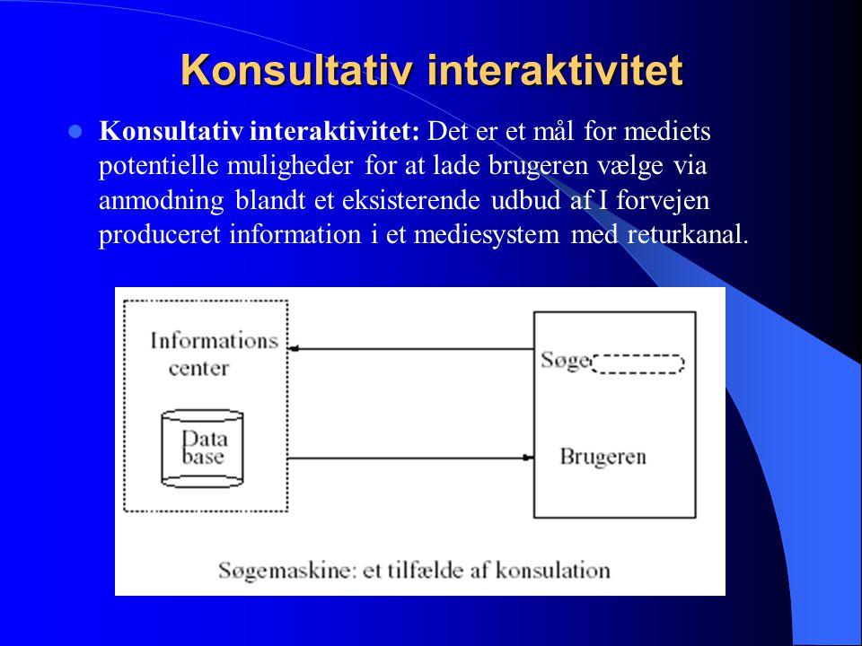 Konsultativ interaktivitet