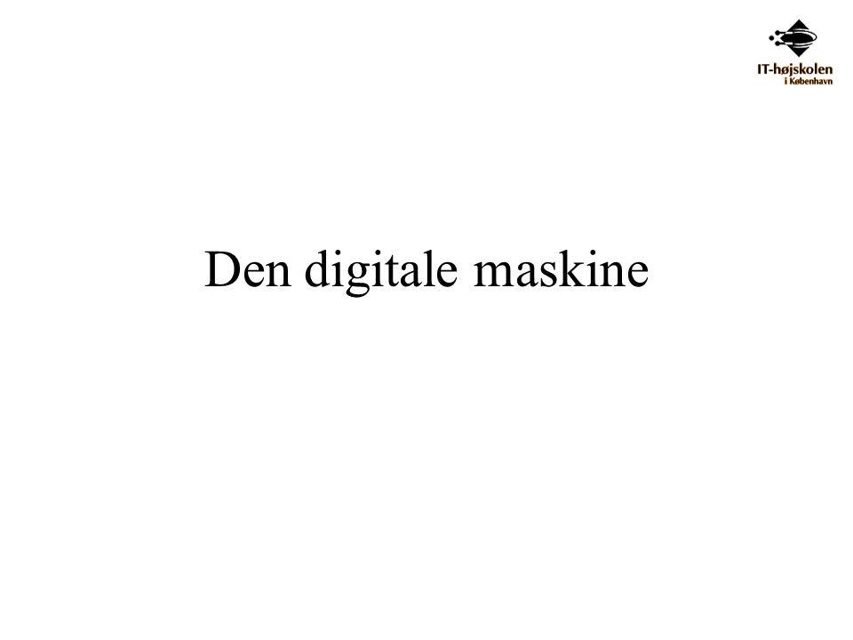 Den digitale maskine