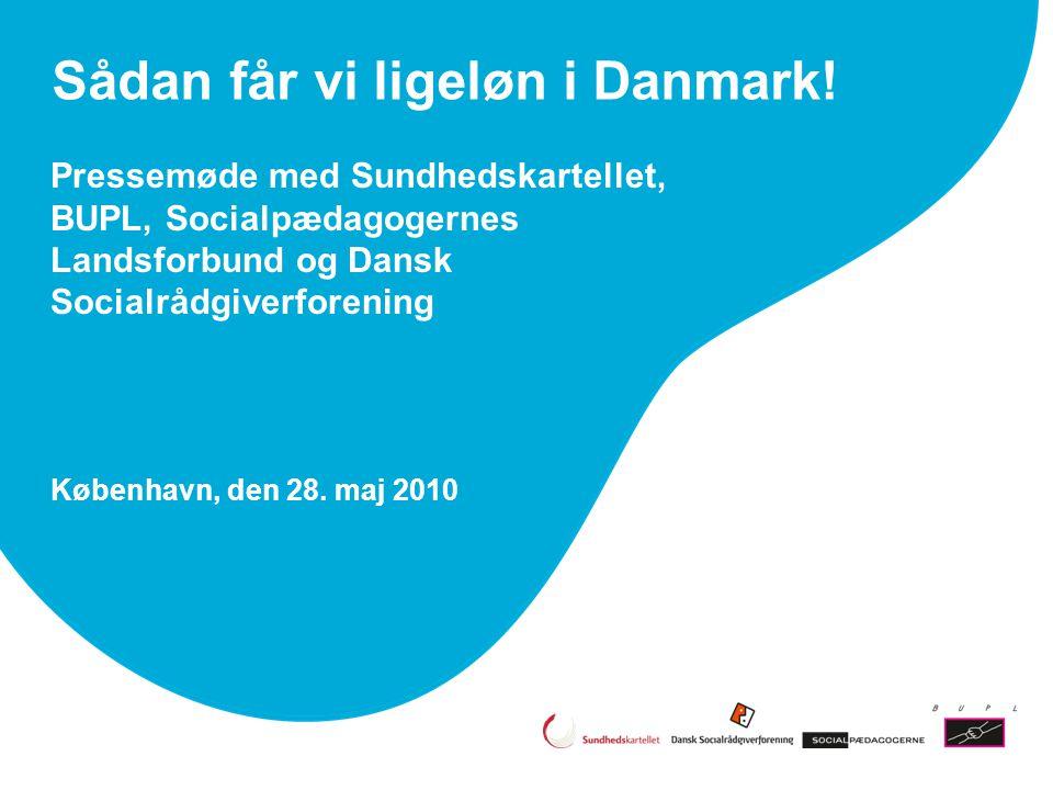 Sådan får vi ligeløn i Danmark!
