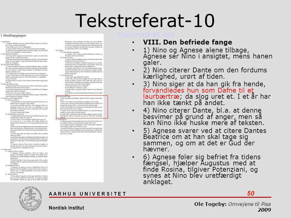 Tekstreferat-10 Pisaomveje-09.wpd