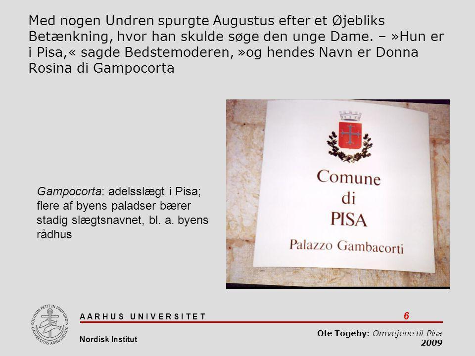 Omvejene til Pisa 05-04-2017.