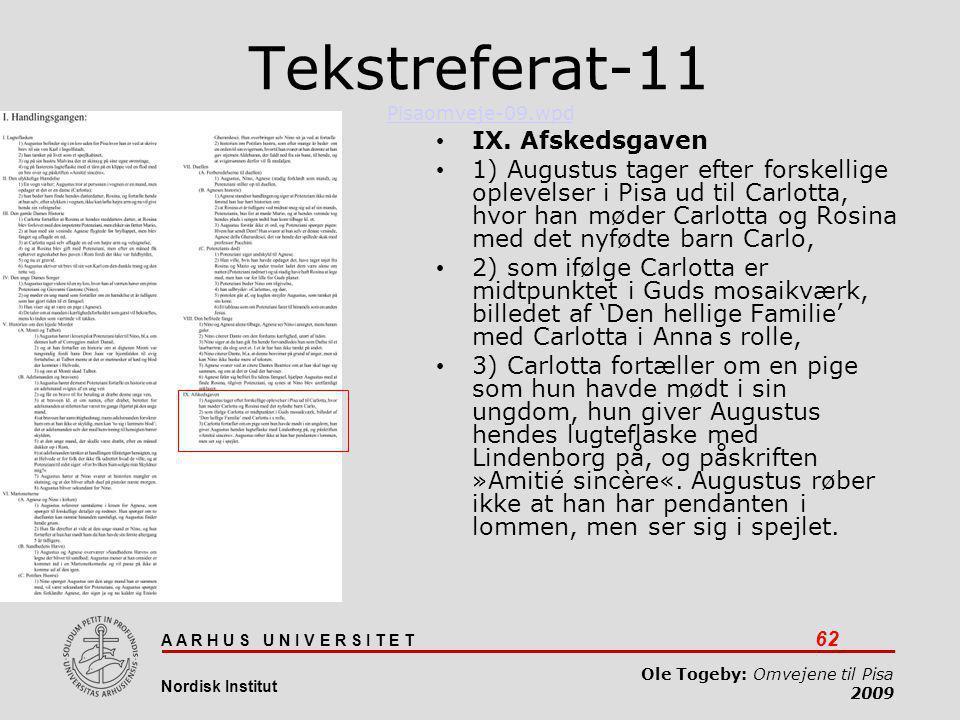 Tekstreferat-11 Pisaomveje-09.wpd