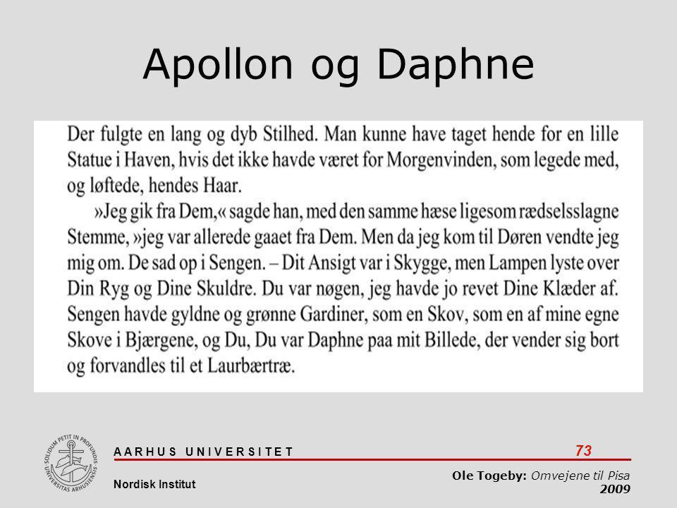 Apollon og Daphne
