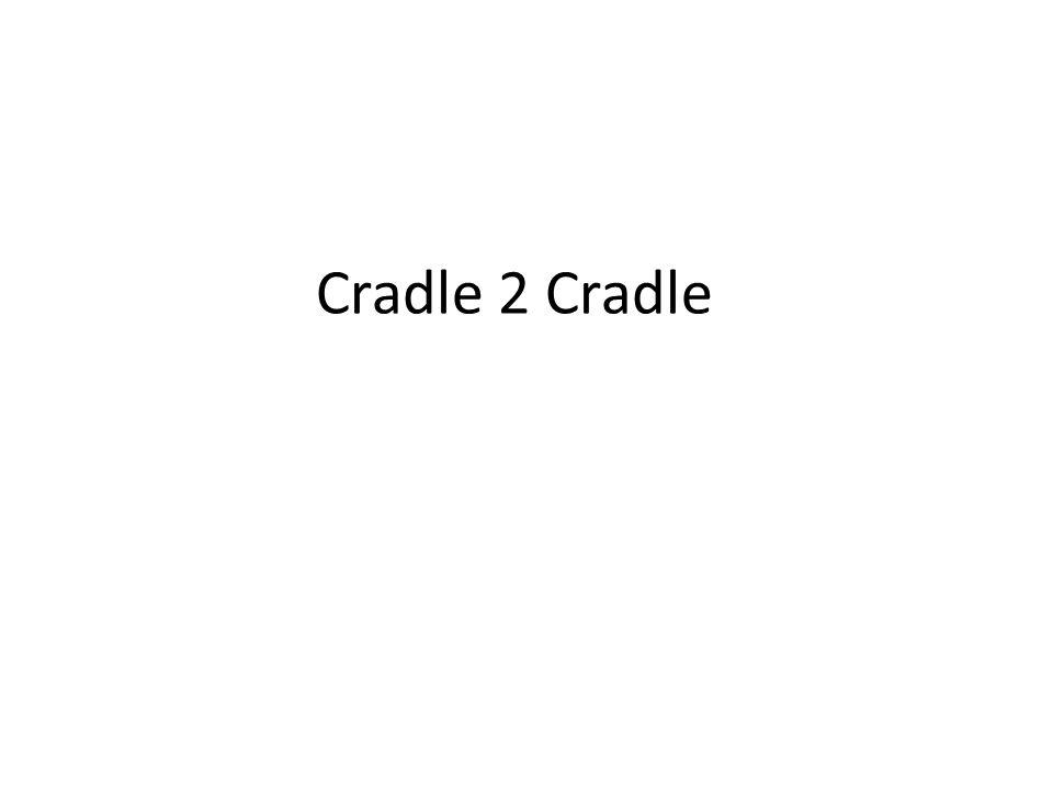 Cradle 2 Cradle