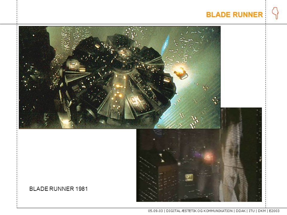 K tekst BLADE RUNNER BLADE RUNNER 1981