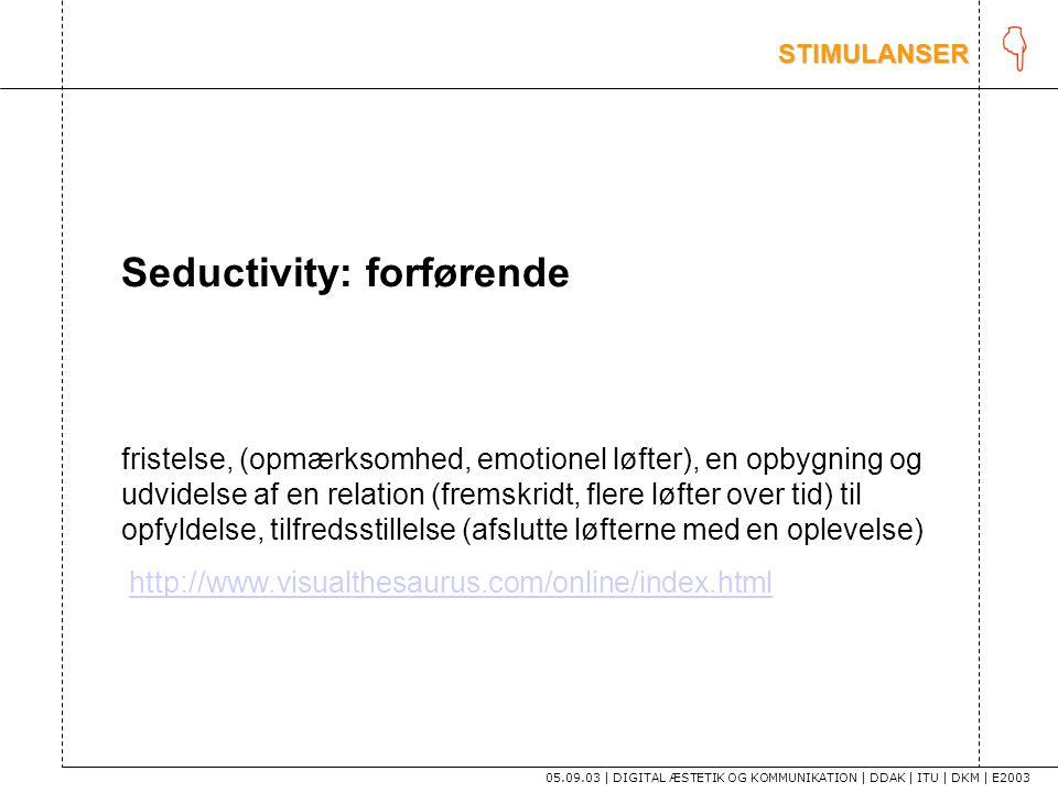 K Seductivity: forførende