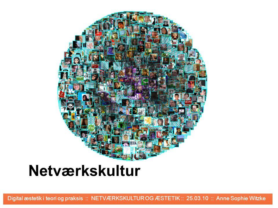 KROP & ÆSTETIK Netværkskultur