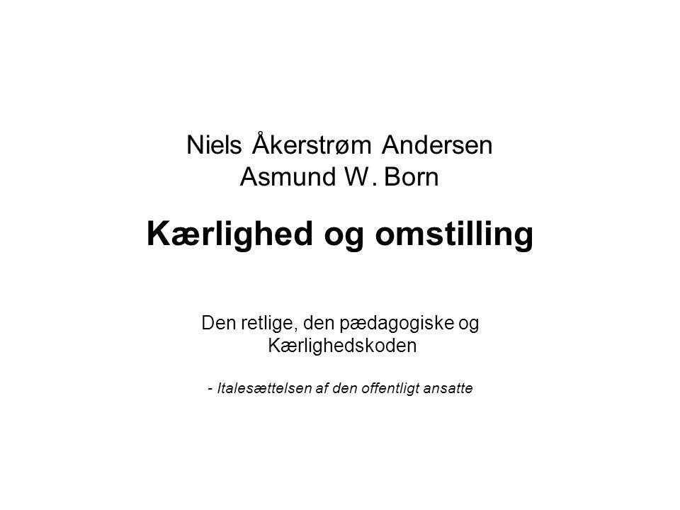 Niels Åkerstrøm Andersen Asmund W. Born Kærlighed og omstilling