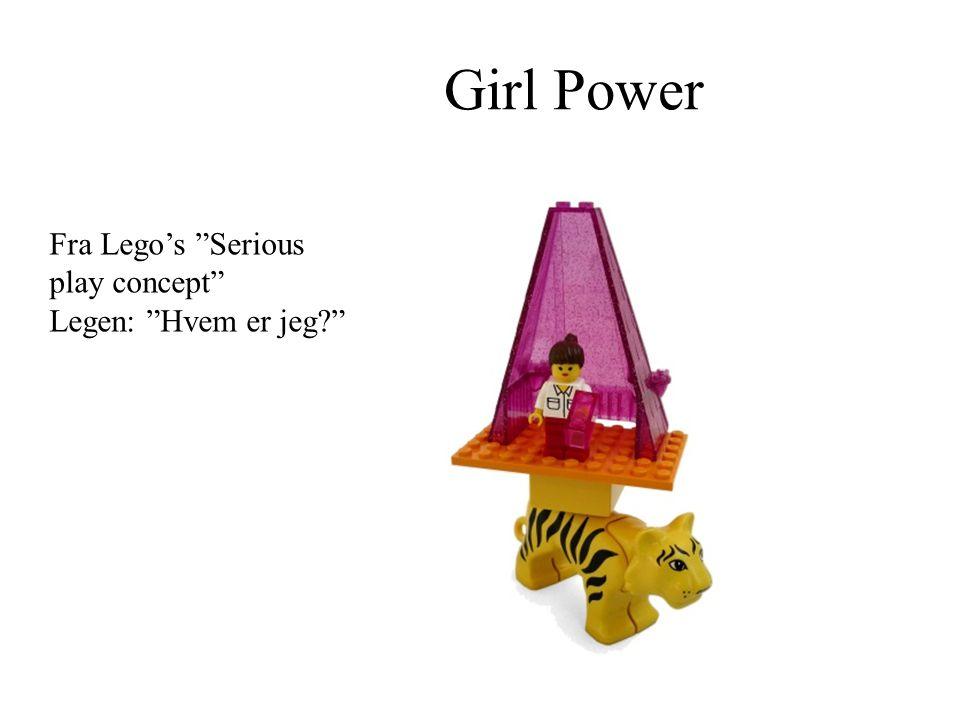 Girl Power Fra Lego's Serious play concept Legen: Hvem er jeg