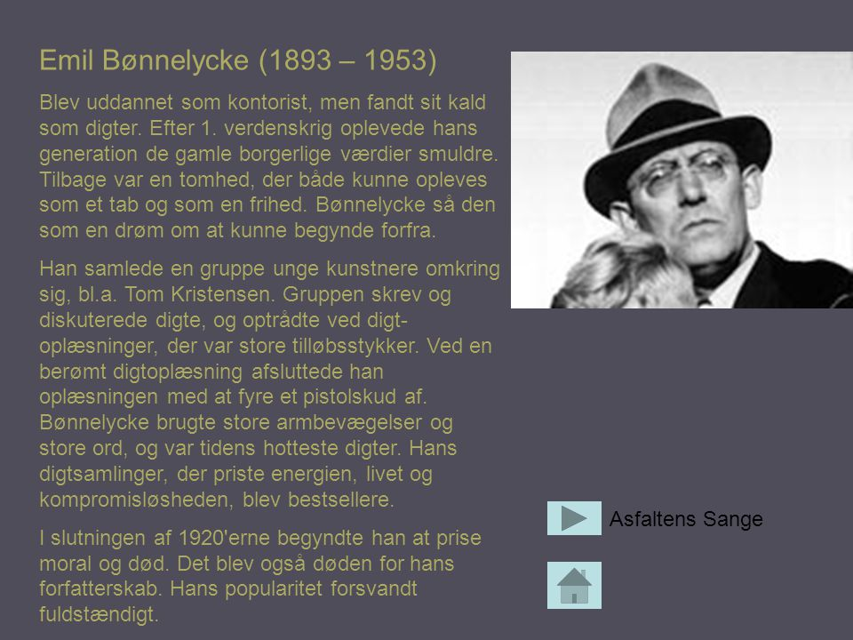 Emil Bønnelycke (1893 – 1953)