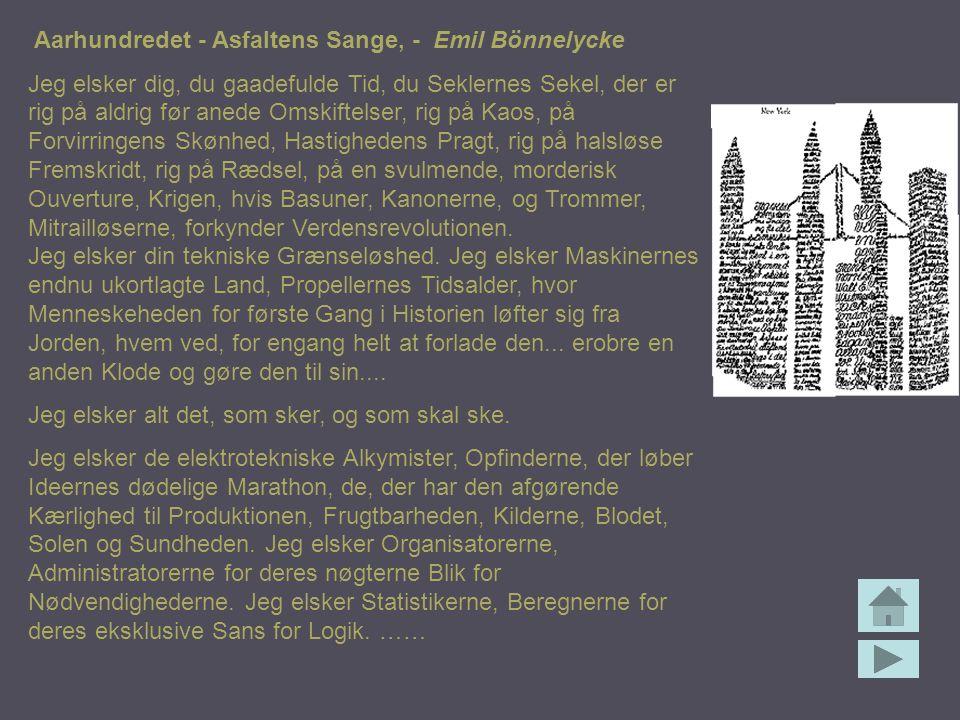 Aarhundredet - Asfaltens Sange, - Emil Bönnelycke