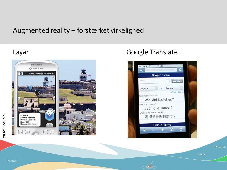 Augmented reality – forstærket virkelighed