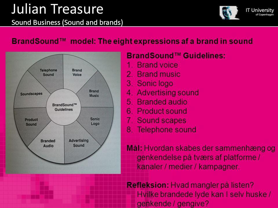 Julian Treasure Sound Business (Sound and brands)