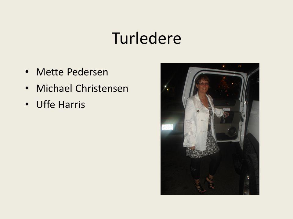 Turledere Mette Pedersen Michael Christensen Uffe Harris