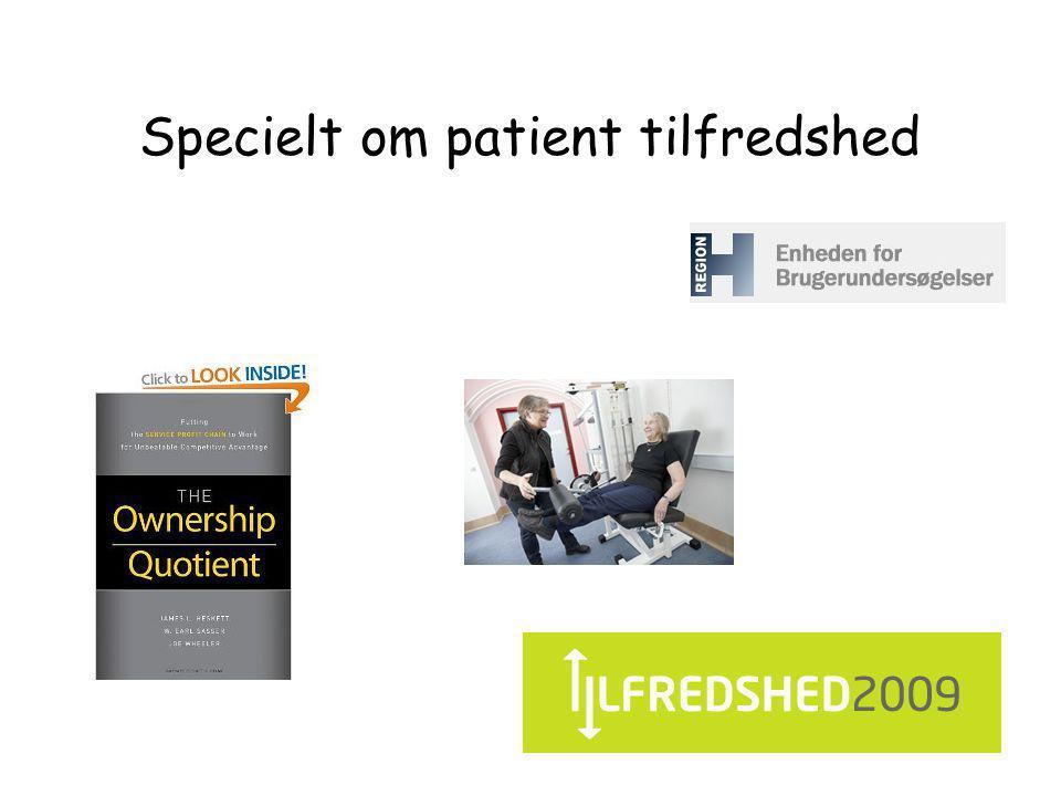 Specielt om patient tilfredshed