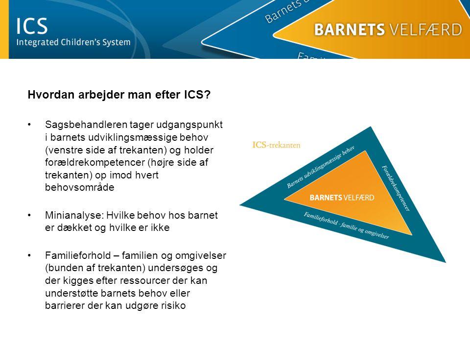Hvordan arbejder man efter ICS