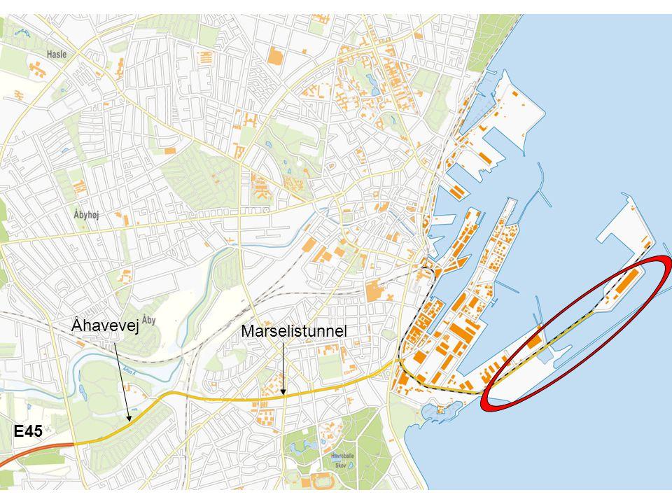 Åhavevej Marselistunnel E45