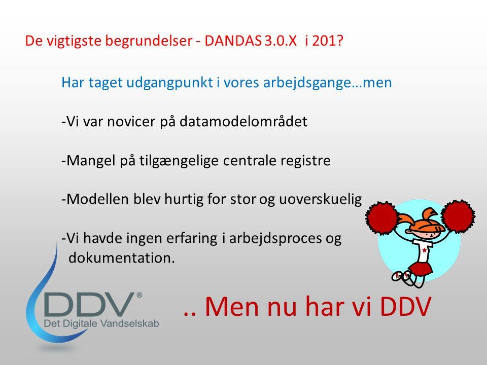 .. Men nu har vi DDV De vigtigste begrundelser - DANDAS 3.0.X i 201